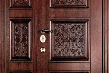 Обшивка дверей МДФ